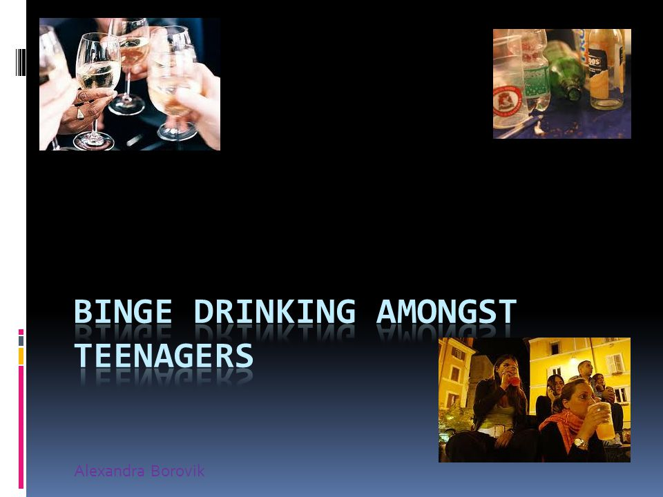 What is Binge Drinking.