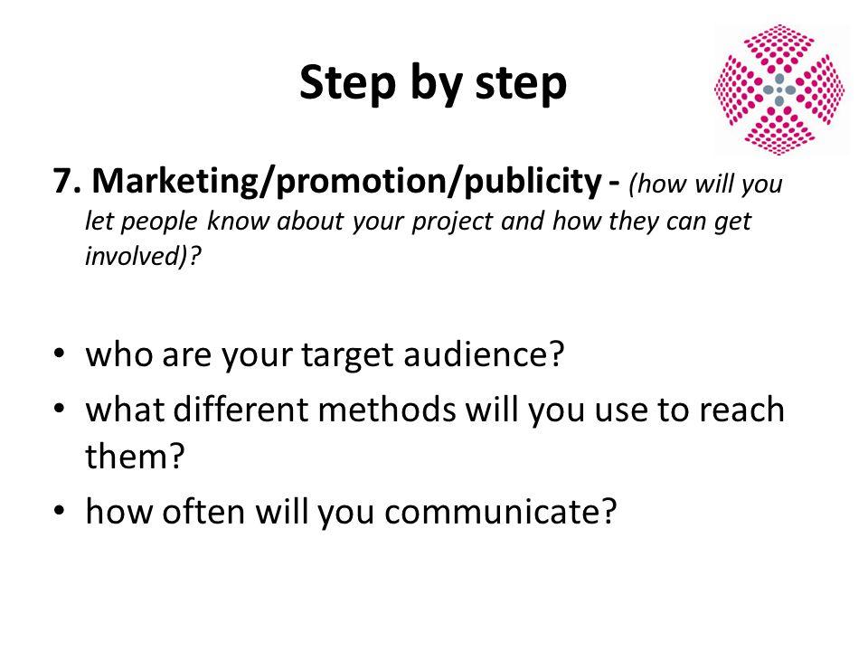 Step by step 7.