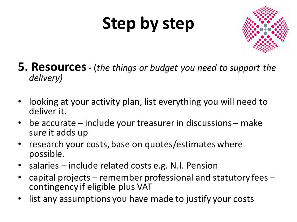 Step by step 5.