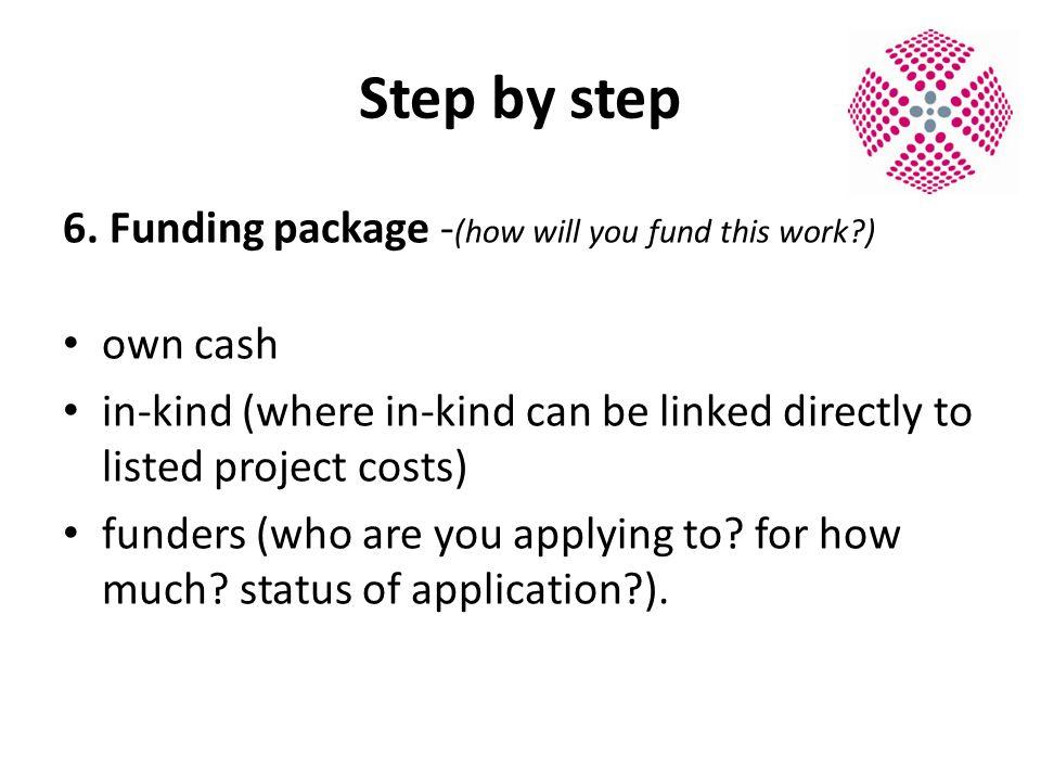 Step by step 6.