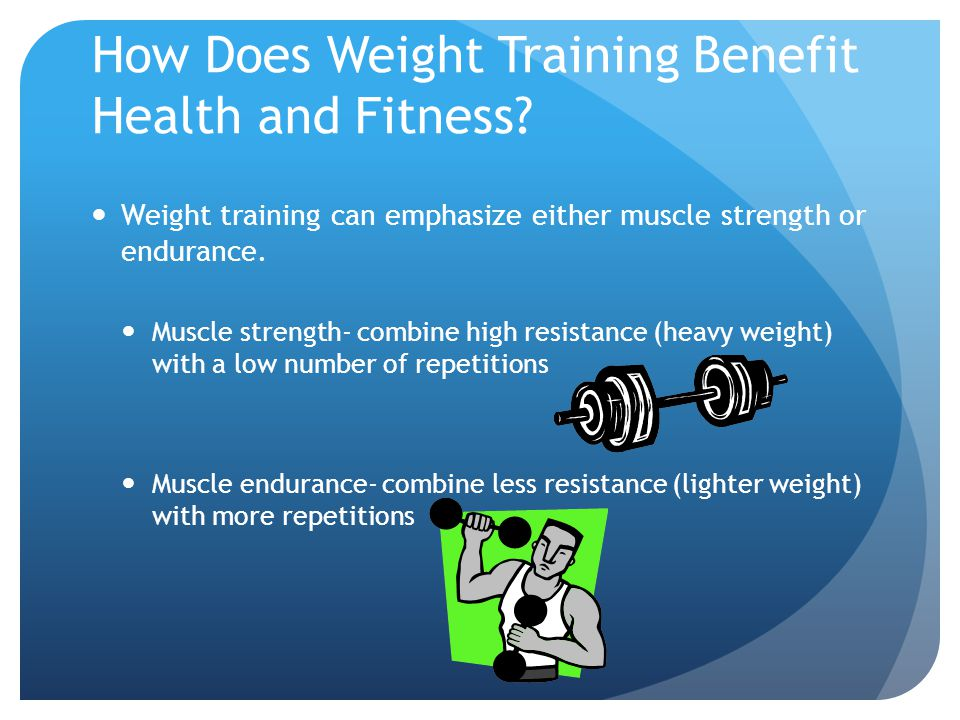 How Does Weight Training Benefit Health and Fitness.