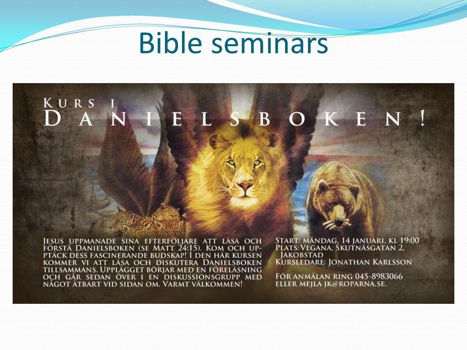 Bible seminars