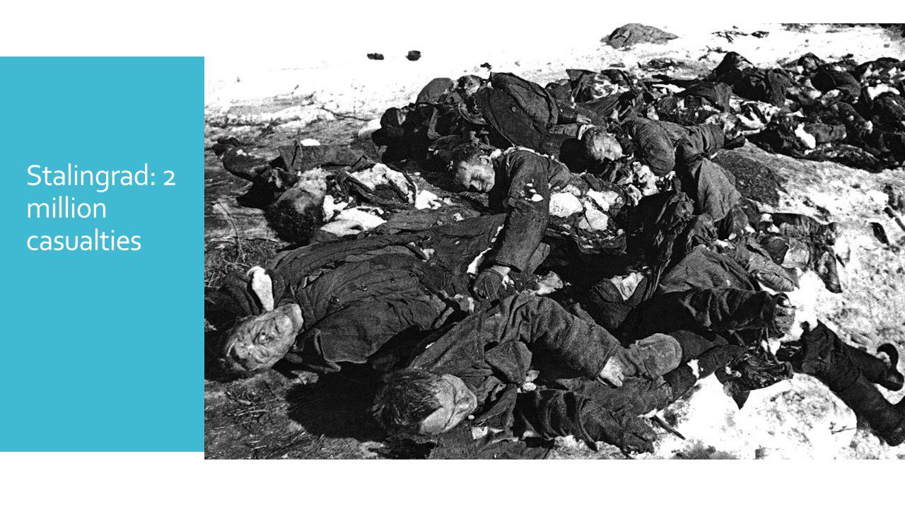 Stalingrad: 2 million casualties