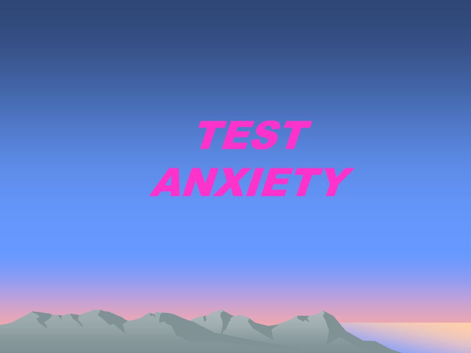 FINAL THOUGHTS Anxiety CAN be managed.Test-taking is a skill that CAN be learned.