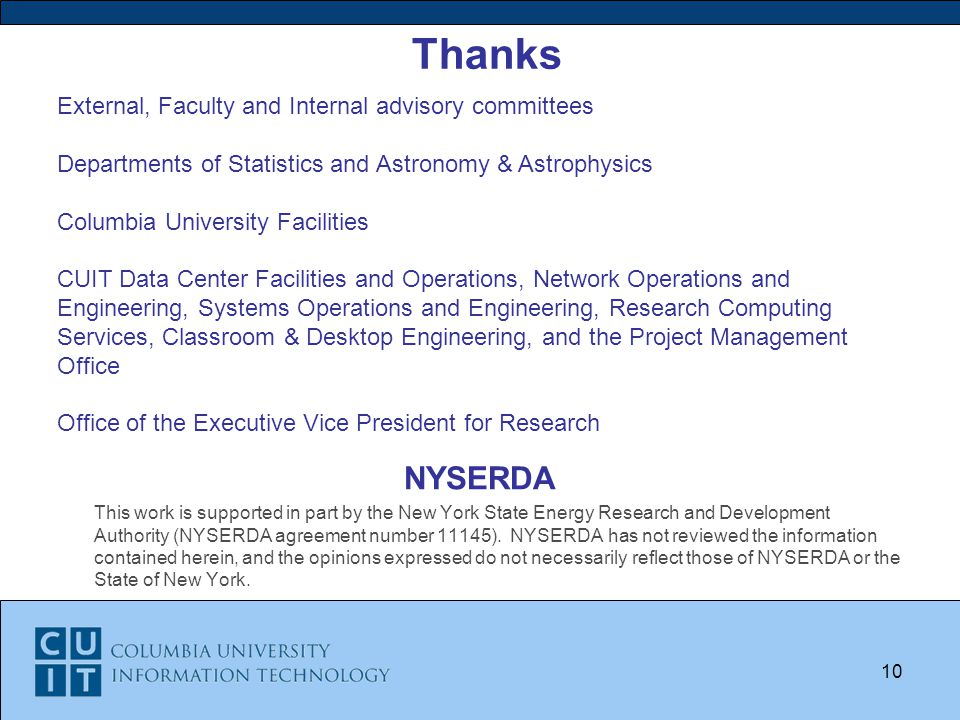 NYSERDA This work is supported in part by the New York State Energy Research and Development Authority (NYSERDA agreement number 11145).