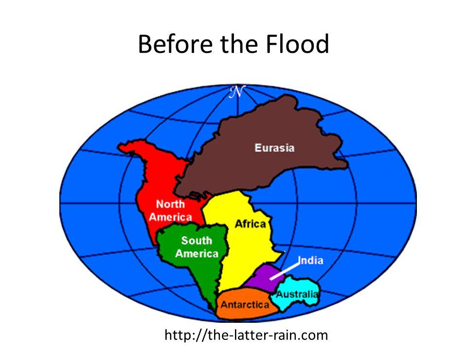 Before the Flood http://the-latter-rain.com