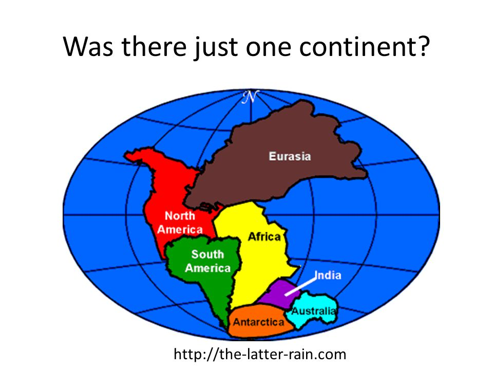 Was there just one continent http://the-latter-rain.com