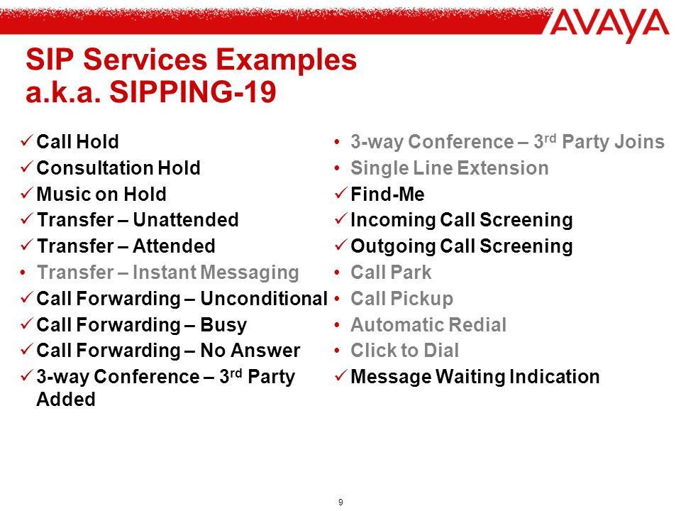 10 The SIP Address of Record (AOR) SIP provides a logical identity, the public address , for users –e.g.