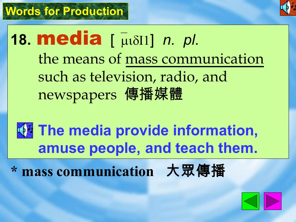 Words for Production 17. simply [ `sImplI ] adv.