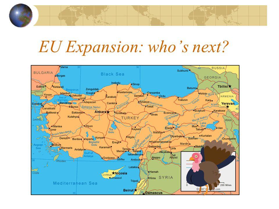 EU Expansion: who's next