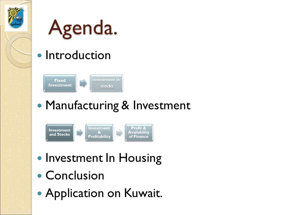 Agenda.