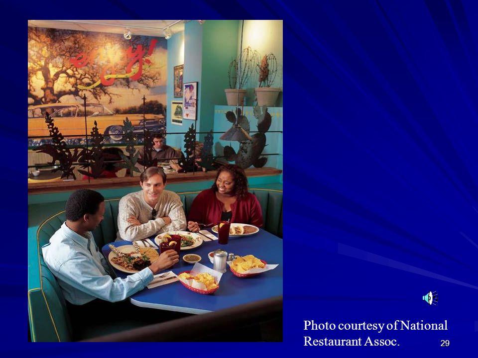 29 Photo courtesy of National Restaurant Assoc.