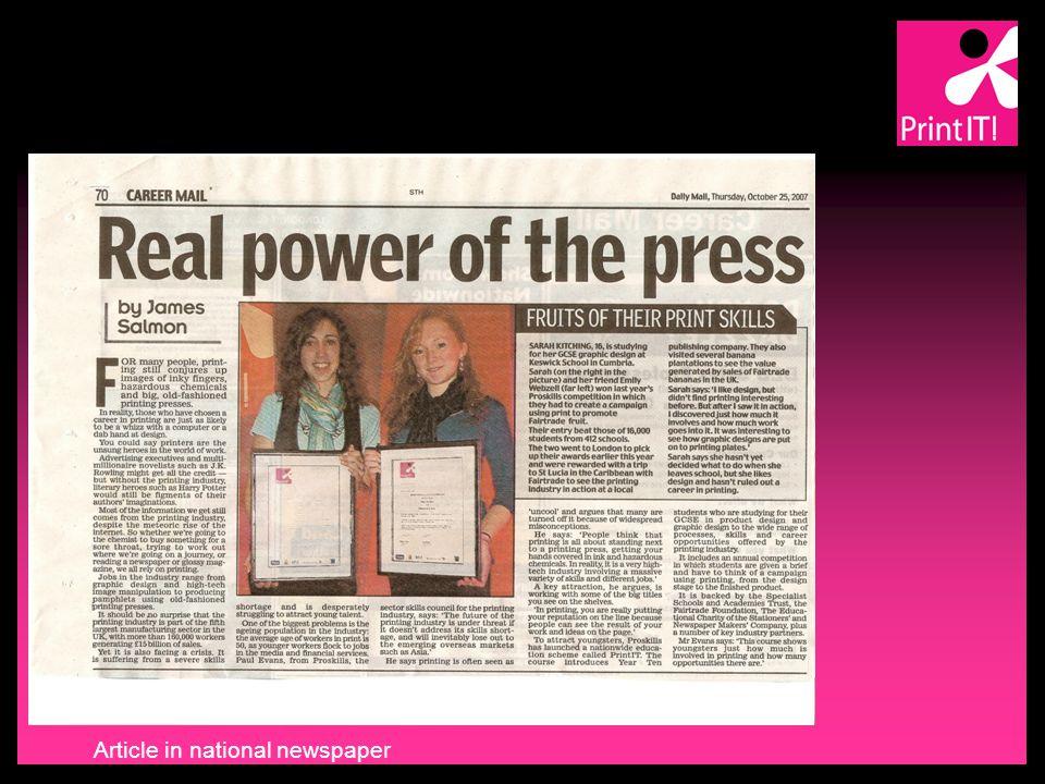 PrintIT! 2007 Awards winners