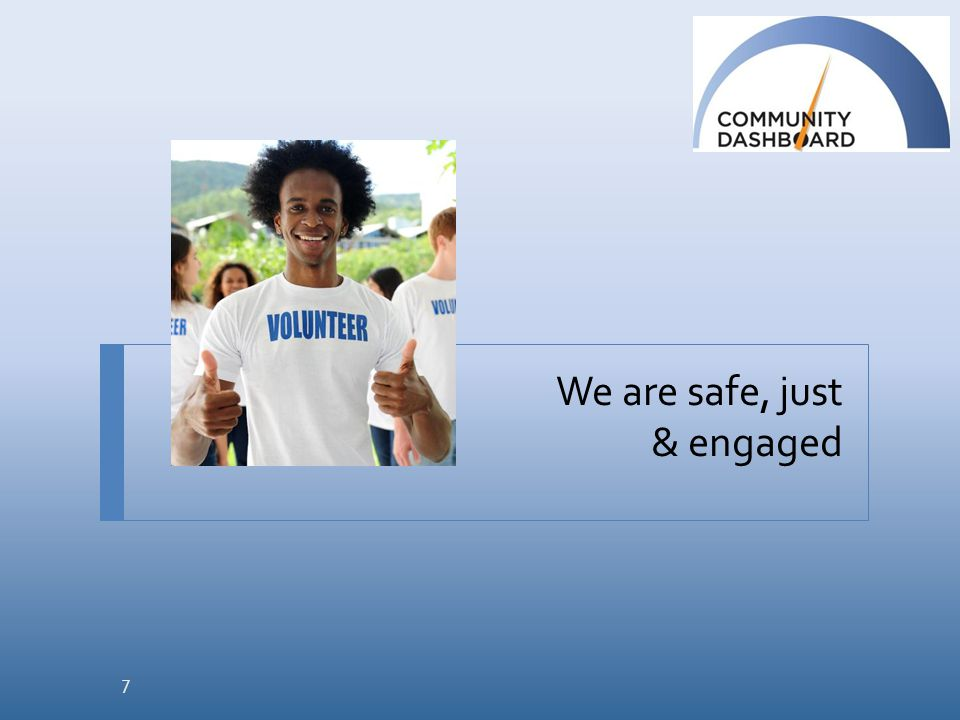 We are safe, just & engaged 7
