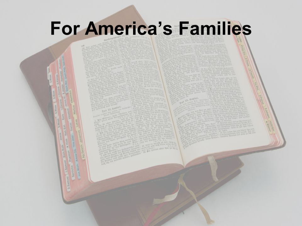 For America's Families