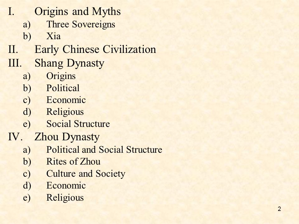 13 IV.The Zhou Dynasty (1045-221 B.C.E.) a)Political and Social Structures Rites of Zhou –idea of the Mandate of Heaven.