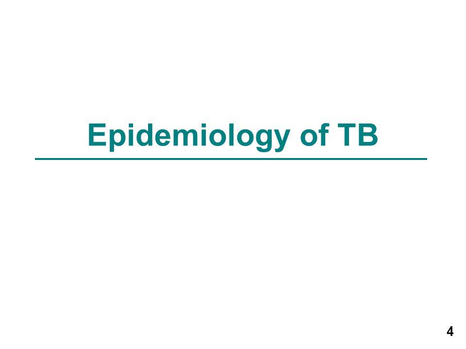 4 Epidemiology of TB