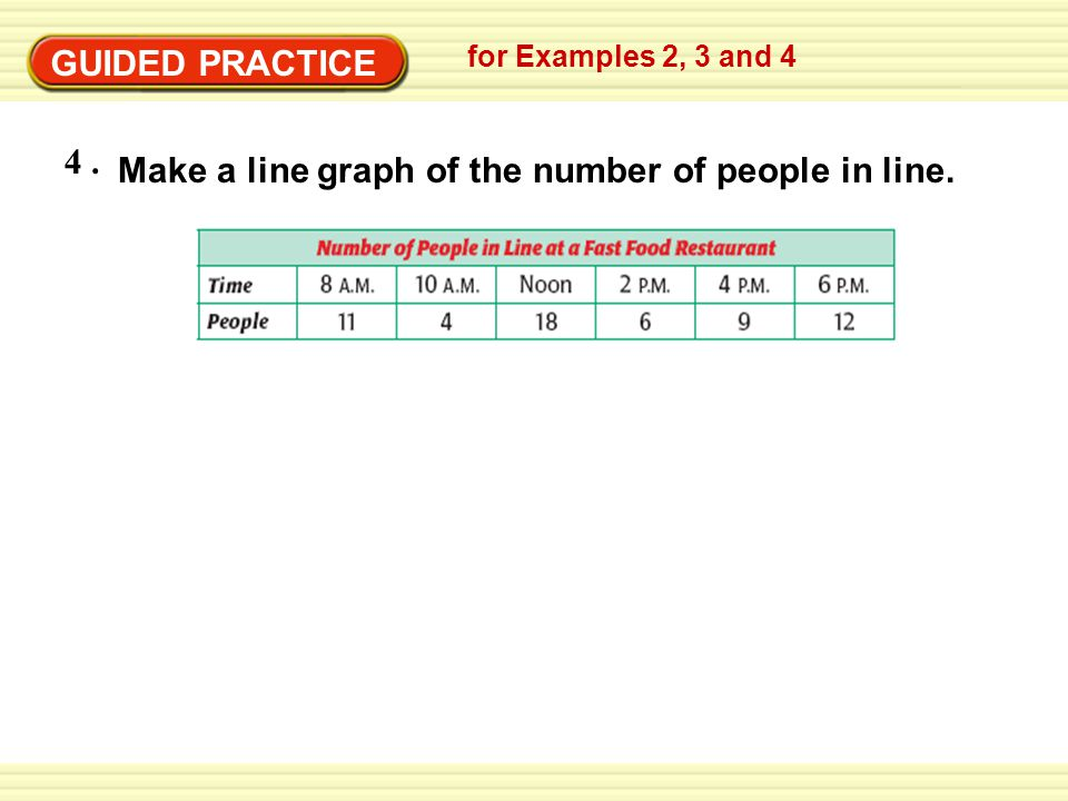 GUIDED PRACTICE ANSWER for Examples 2, 3 and 4