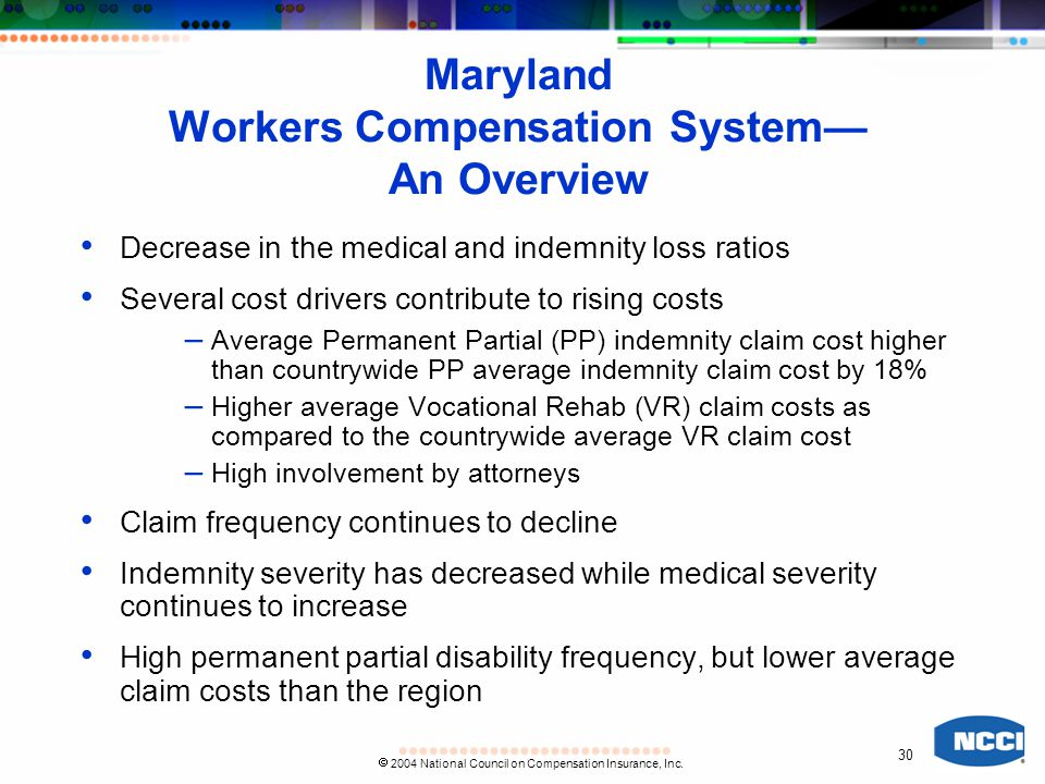 30  2004 National Council on Compensation Insurance, Inc.