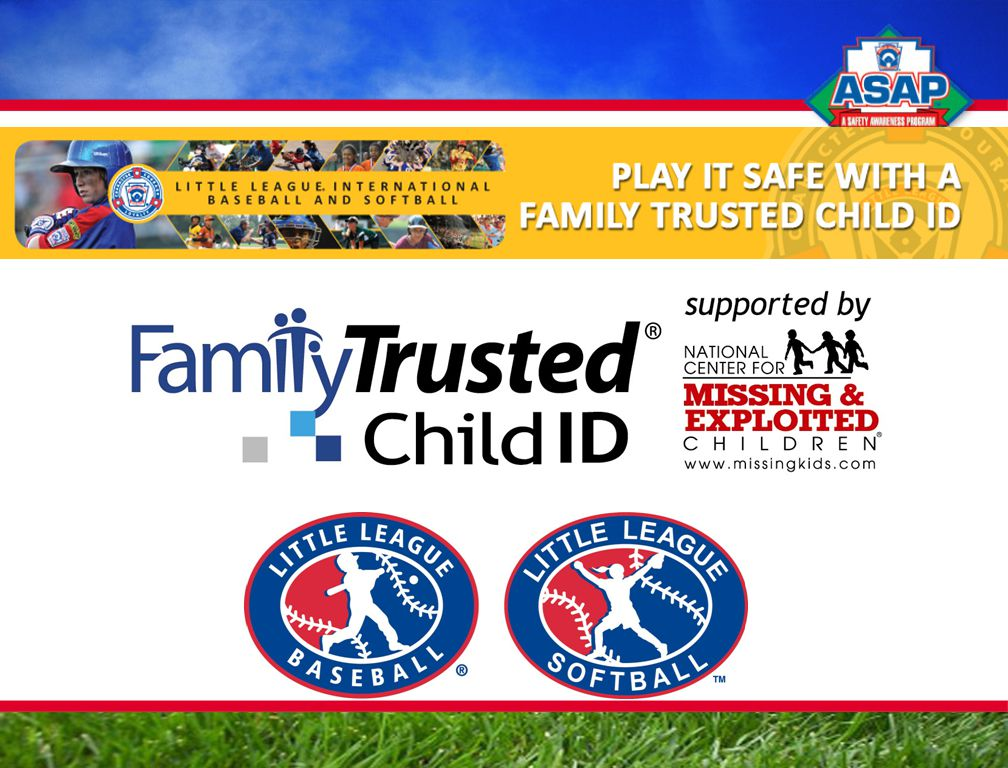 Little League Child ID Fund Raising