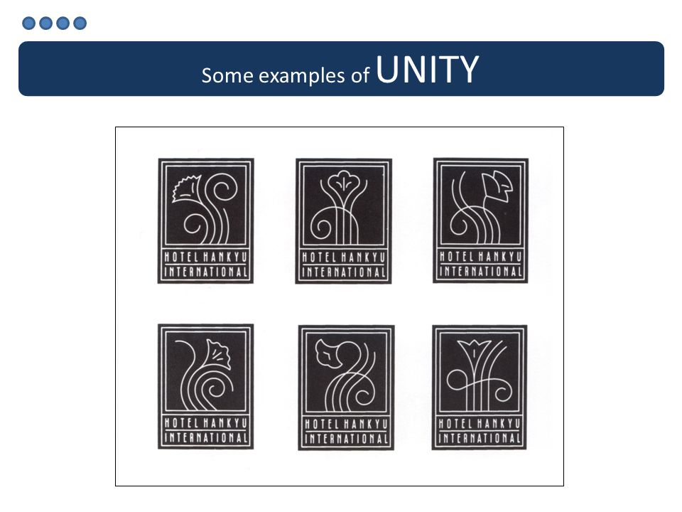 Some examples of UNITY