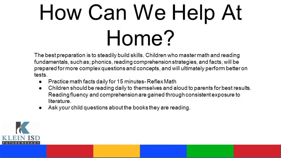 How Can We Help At Home.The best preparation is to steadily build skills.