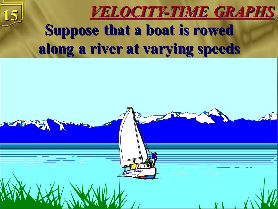 VELOCITY-TIME GRAPHS 14