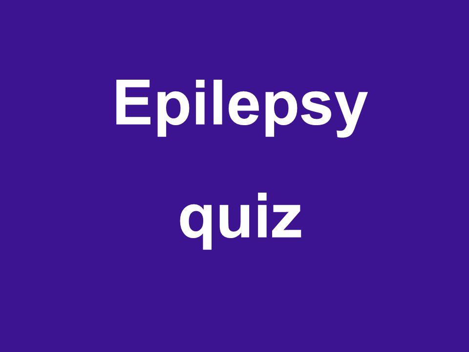 Epilepsy quiz