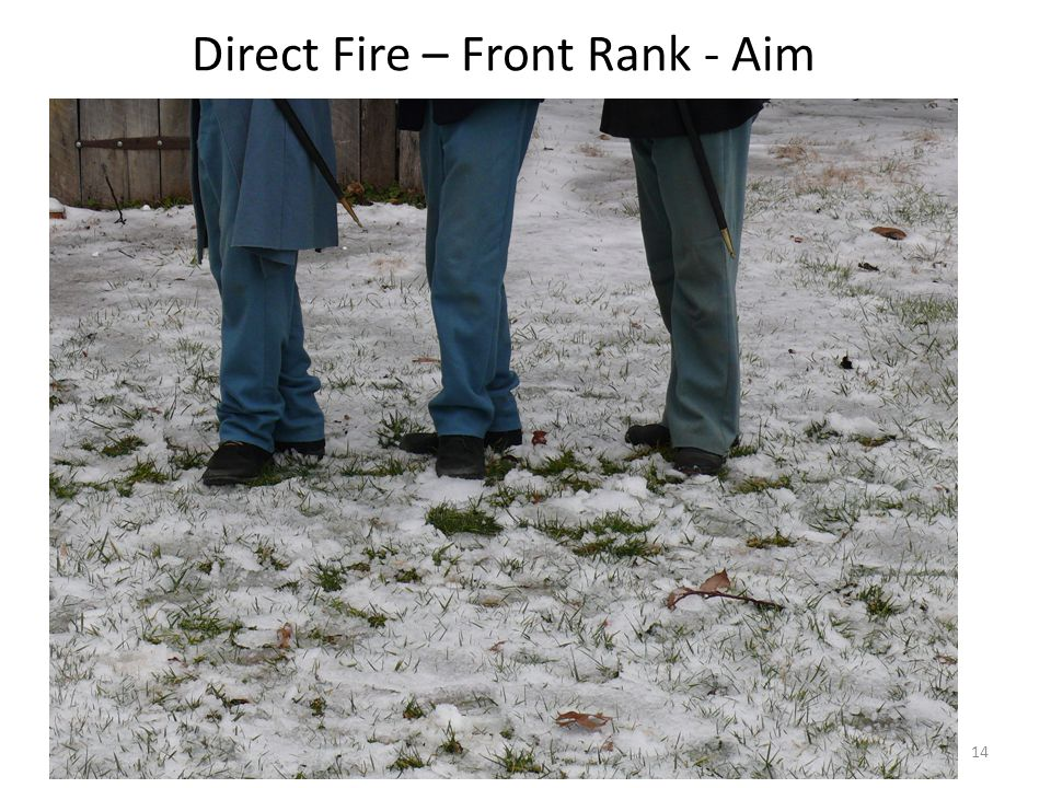 Direct Fire – Front Rank - Aim 14