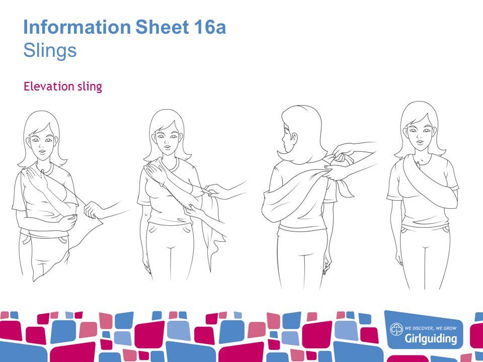 Information Sheet 16a Slings Elevation sling