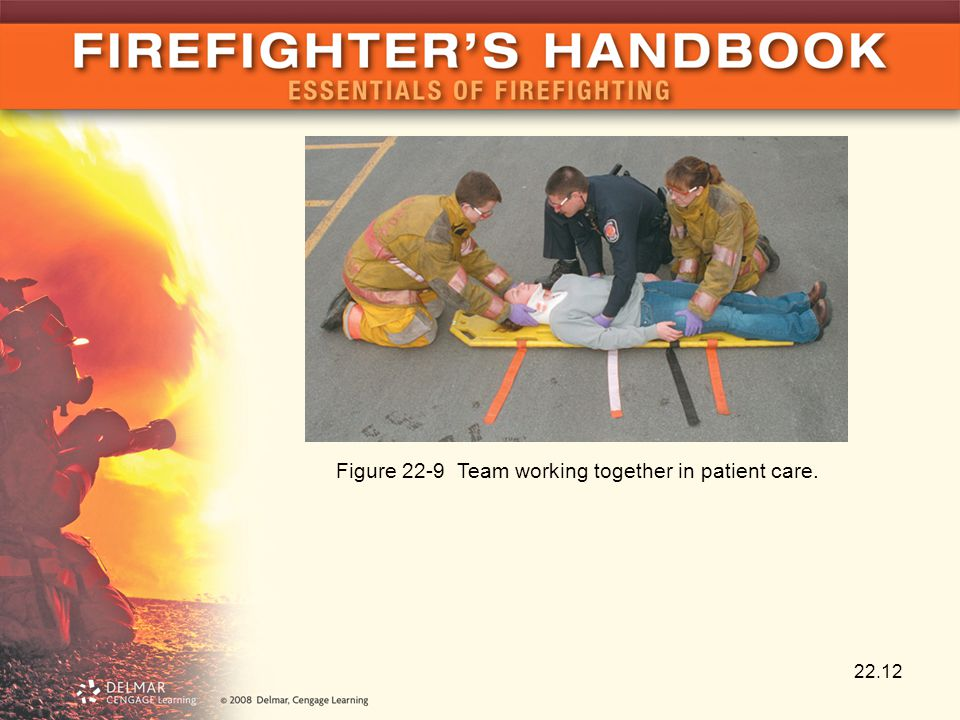 22.12 Figure 22-9 Team working together in patient care.