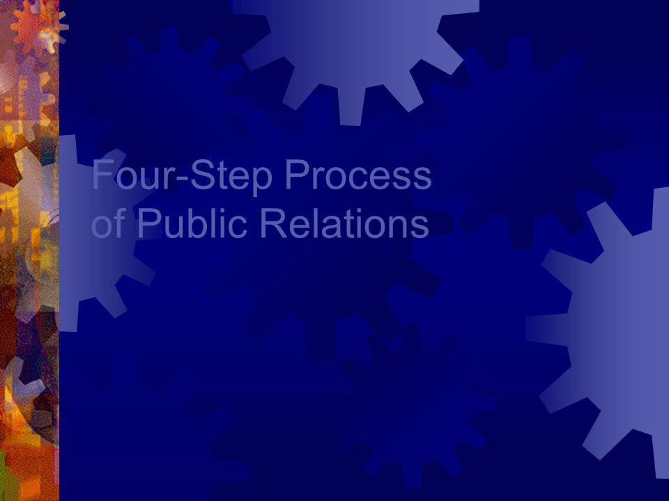 RACE / ROPE 4 Steps Are: 1.Research 2.Action Plan / Objectives / Program Planning 3.Communication Tactics / Implementing Plan 4.Evaluation
