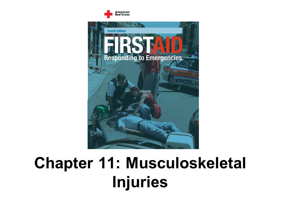Chapter 11: Musculoskeletal Injuries