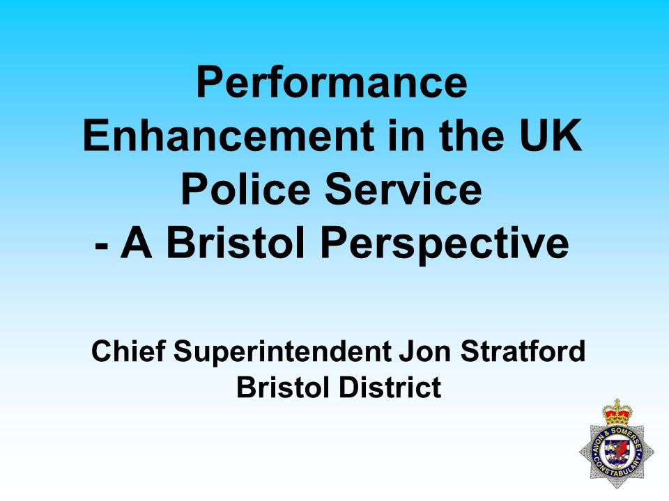 Headlines Defining our role The complexity of Policing The challenges of measurement The performance journey we are on The relationship between Performance and Quality Leadership and the way forward Questions