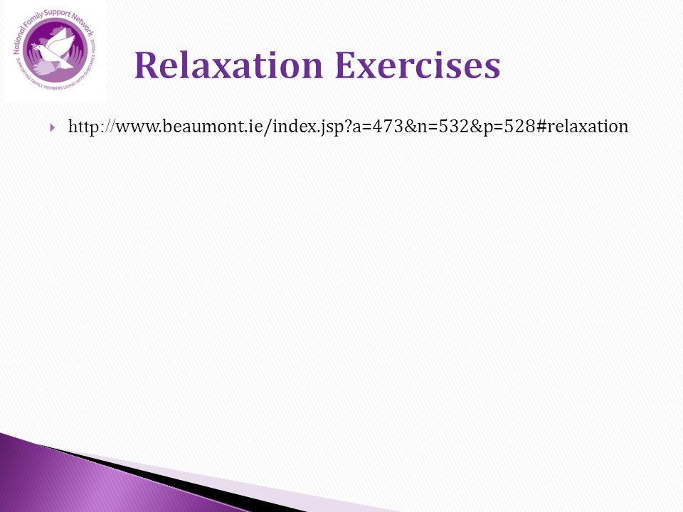  http:// www.beaumont.ie/index.jsp a=473&n=532&p=528#relaxation