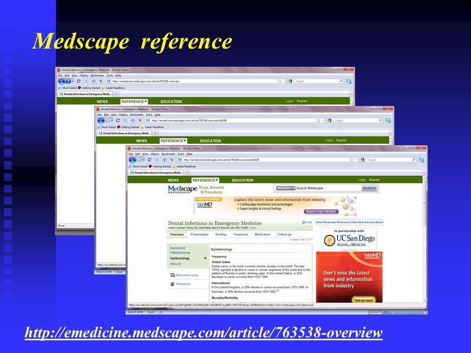 http://emedicine.medscape.com/article/763538-overview Medscape reference