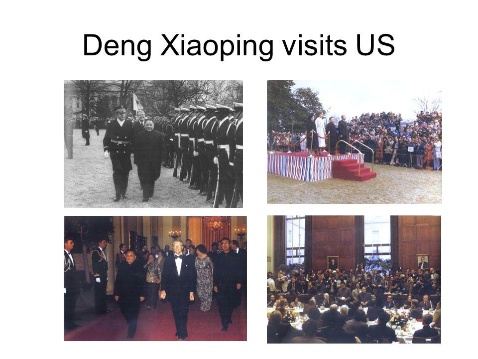 Deng Xiaoping visits US