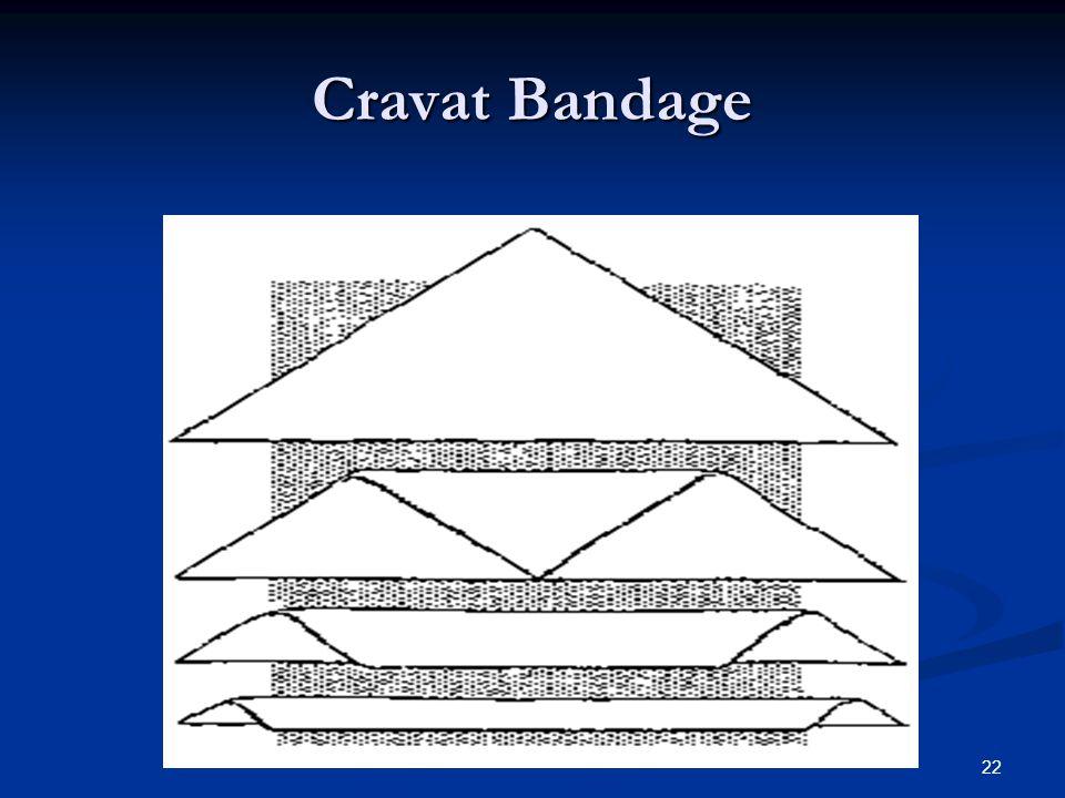 22 Cravat Bandage