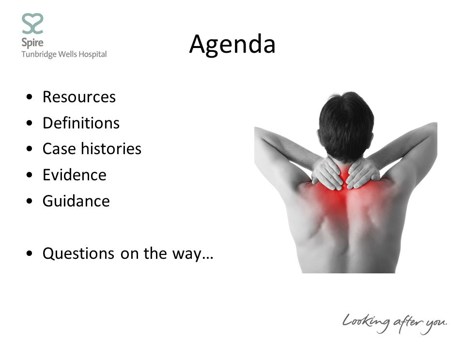 Agenda Resources Definitions Case histories Evidence Guidance Questions on the way…