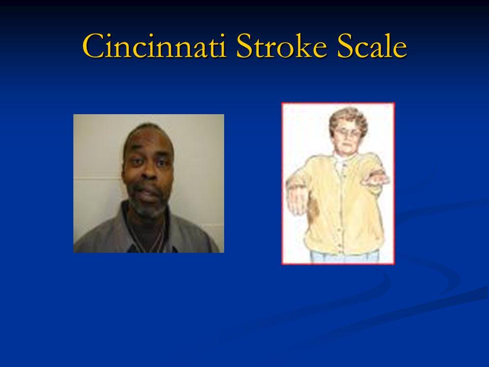 Cincinnati Stroke Scale