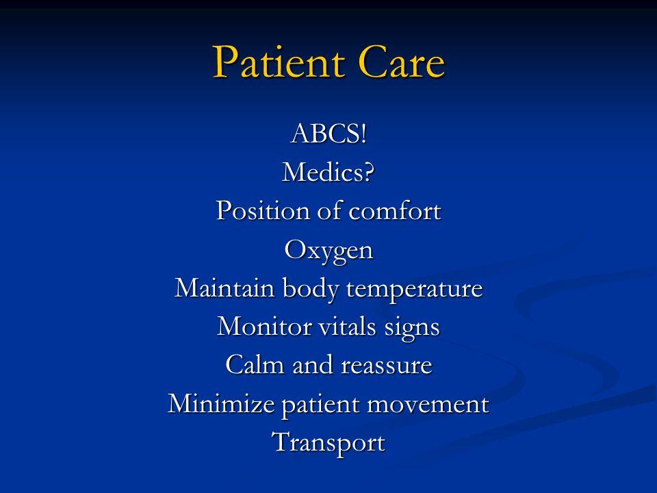 Patient Care ABCS!Medics.