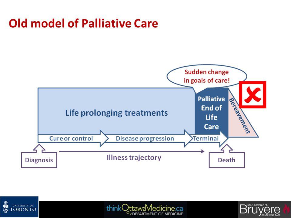 Old model of Palliative Care