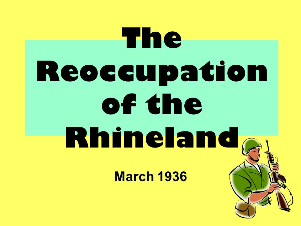 Rhineland Cartoon Part of Cartoon Describe What You See What Does This Represent? 1 2 3 4 5 6