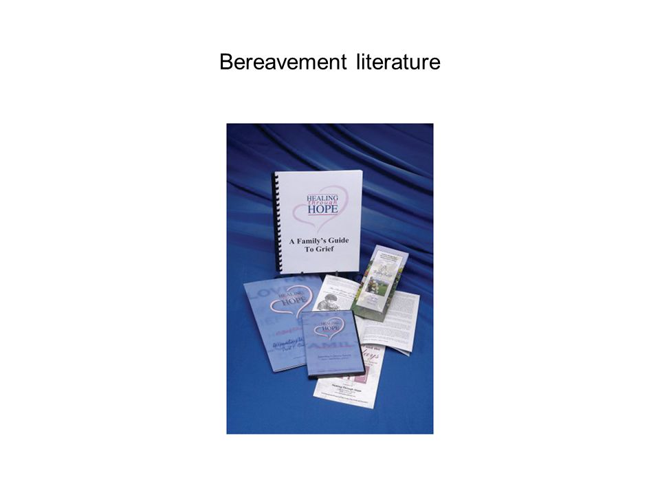 Bereavement literature