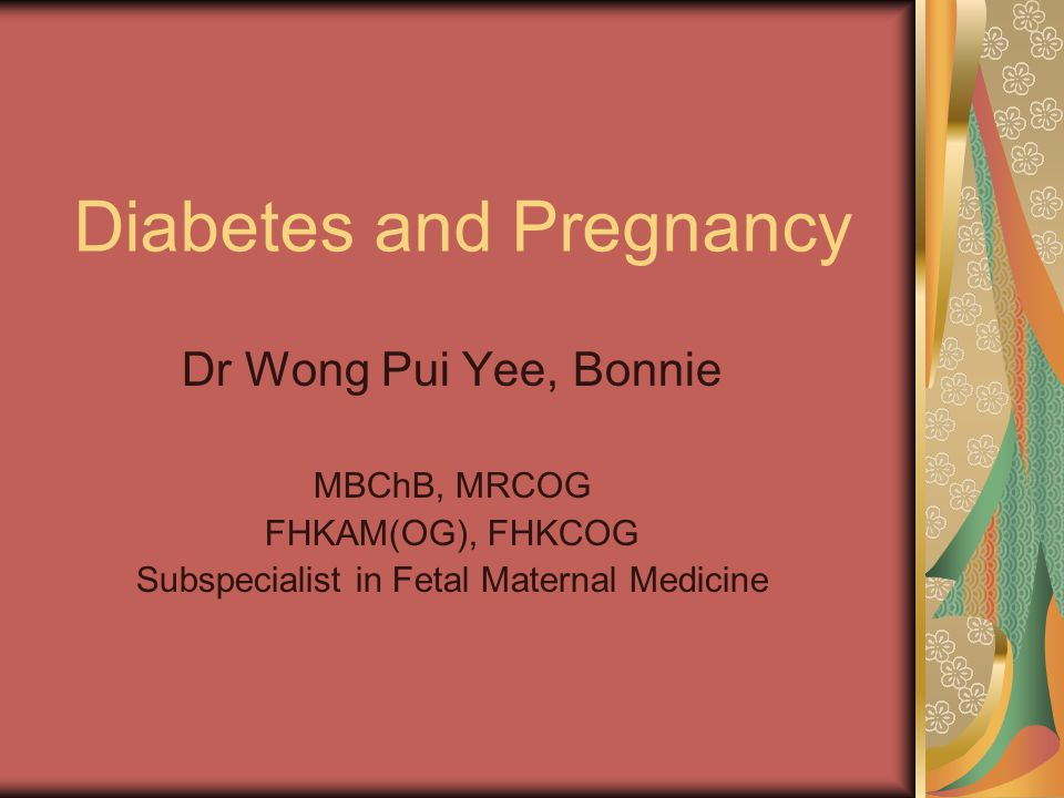 Gestational diabetes Women with glucose intolerance just above normal range are at low risk for pregnancy complications, those with more severe glucose intolerance approaching the criteria of diabetes are at risk of neonatal complications