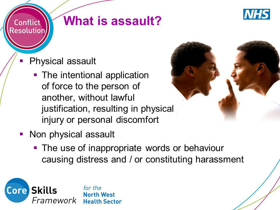 What is assault.