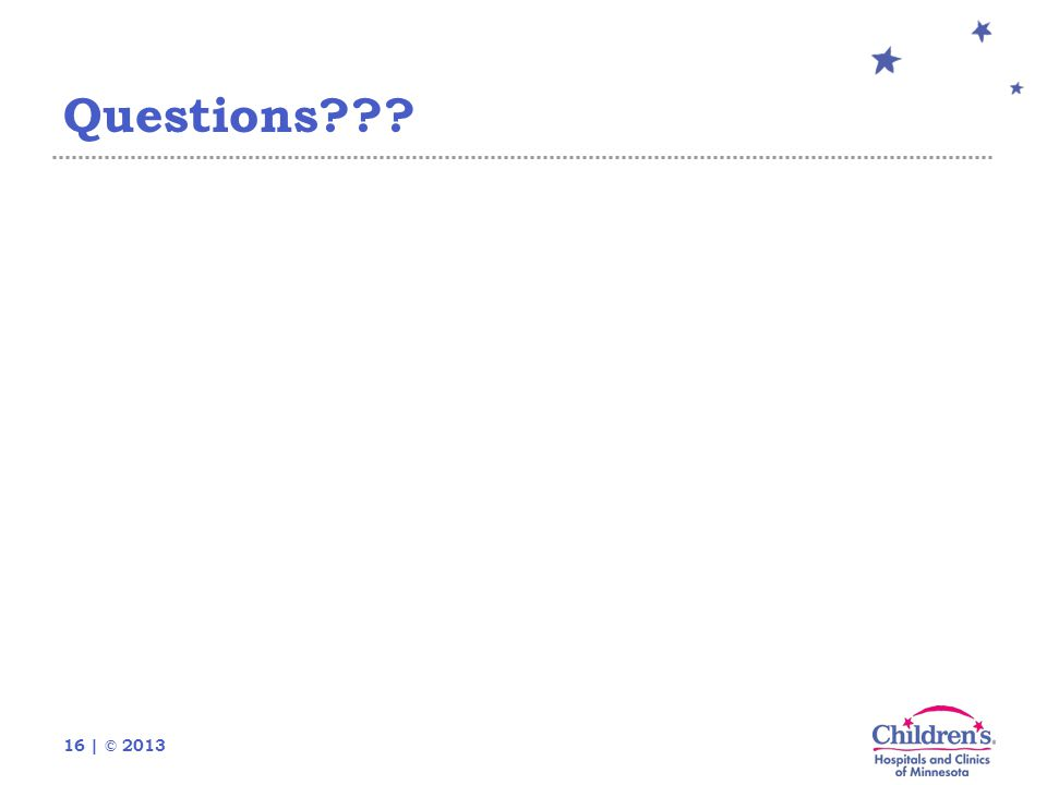 16 | © 2013 Questions???