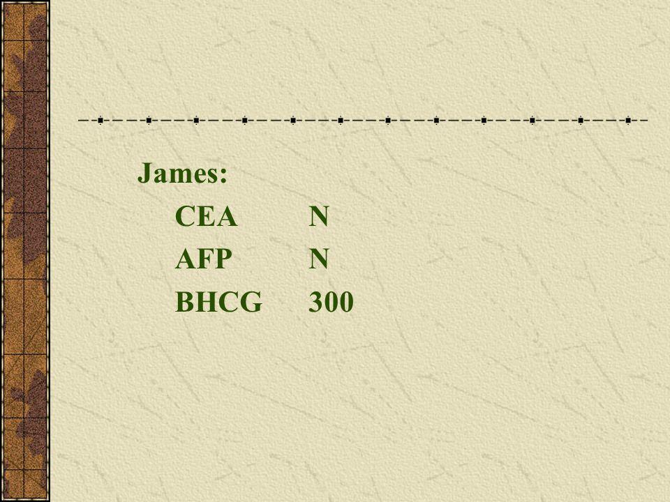 James: CEAN AFPN BHCG300