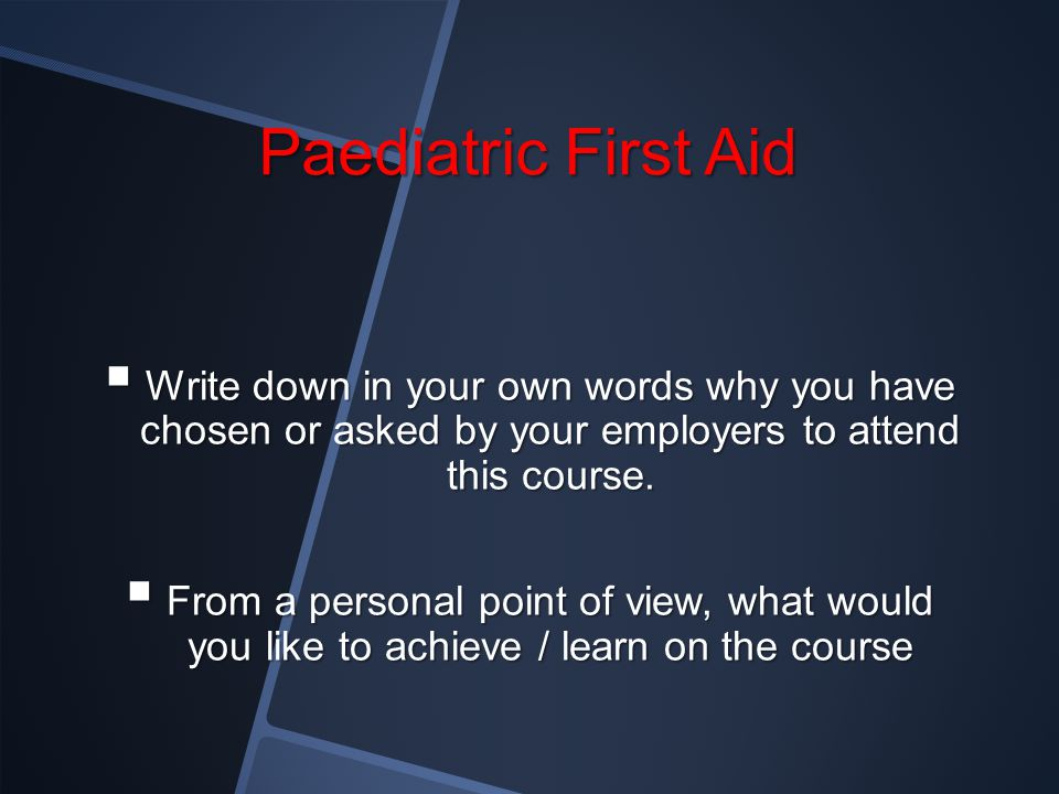 Assessing casualties Assessing casualties Primary assessment Secondary assessment Recovery position A practical session
