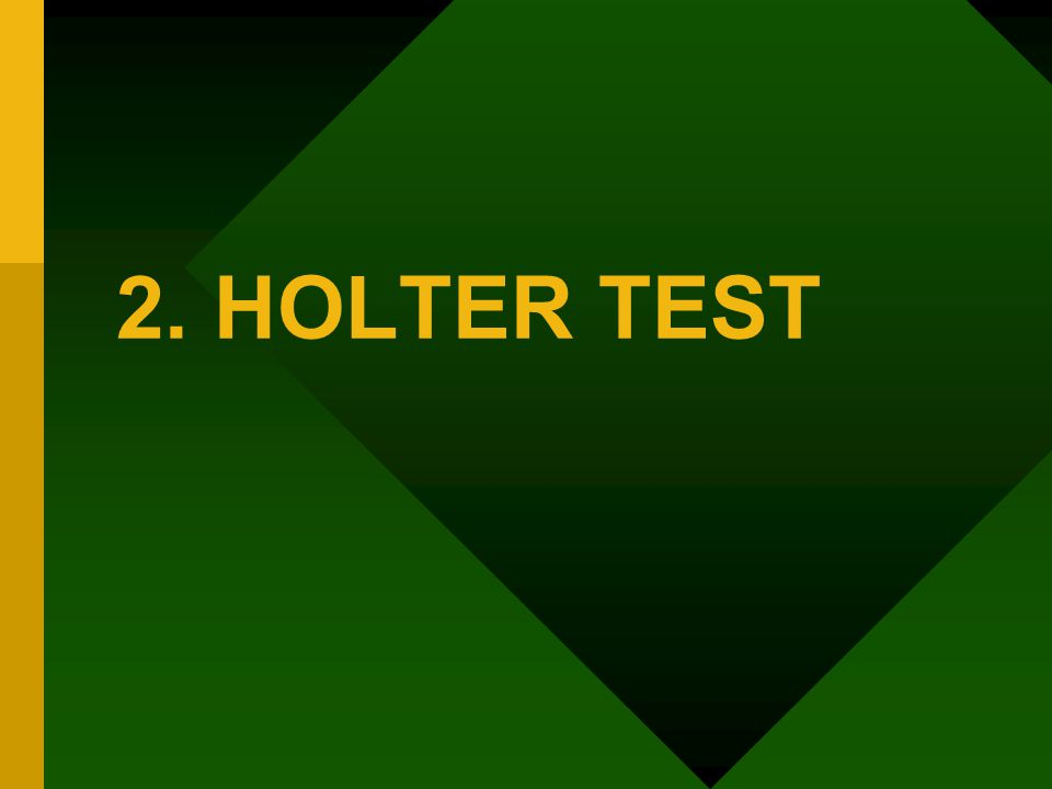 2. HOLTER TEST